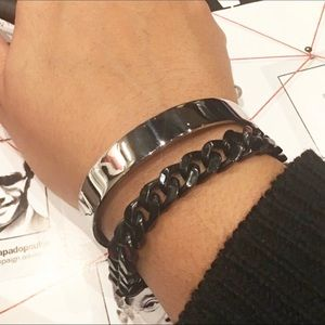 Unisex High Gloss Stainless Steel Bracelet